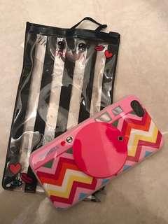 Iphoria iphone 6/6S phone case 手機殼 neon pink 螢光粉紅 硬膠殼