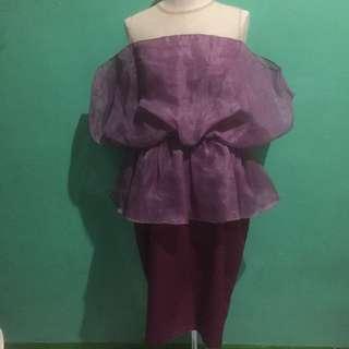 (KONDANGAN SALE) Organza Dress