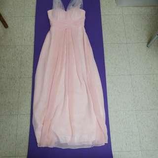 $100 6條結婚婚禮 姊妹裙 晚裝裙套裝6條 已清潔