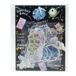 日本直送 Monster Inc. 怪獸公司包裝貼紙