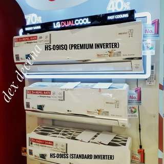FREE INSTALLATION LG New Inverter Split Type Aircon
