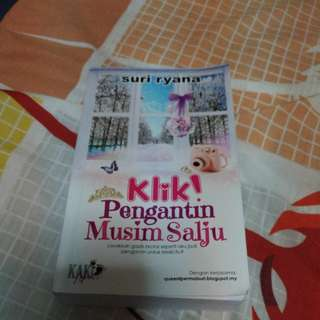 Malay Novel Klik! Pengantin Musim Salju