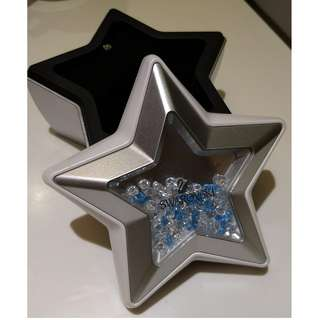 Swarovski Crystal SCS Event Asia VIP Jewelry Star Music Box Christmas Lovely