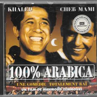 MY PRELOVED CD - KHALED & CHEB MAMI - 100^ ARABICA //FREE DELIVERY (F7A)