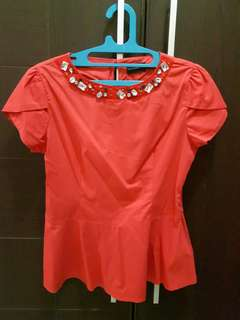 Lisa Top Red