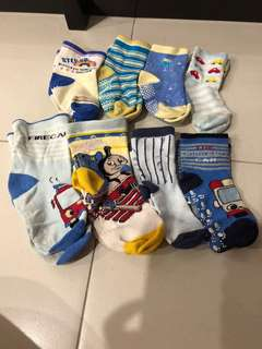 PL Boys Sock Bundle (8pcs)