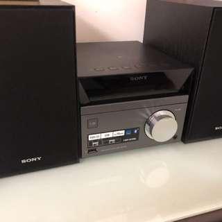 Sony CMT SBT40D , 行貨保養, 9成新