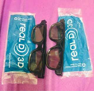 😎睇3D戲點少得3D眼鏡(2副)3D glasses for movie (2 glasses)