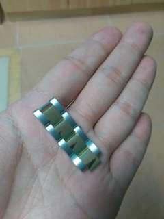 rolex 18k 金鋼帶 31mm表用 勞力士 只剩兩格