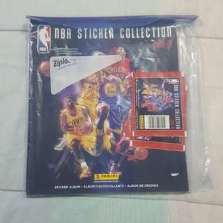 Legit Brand New 2015-16 Panini NBA Sticker Booklet Set