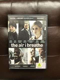 The Air I Breathe Movie DVD
