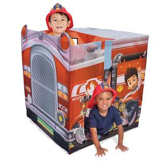 BRAND NEW Playhut Paw Patrol EZ Vehicle Fire Truck Playhouse, Red