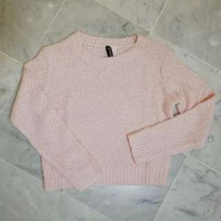 BN H&M Pink Sweater Top