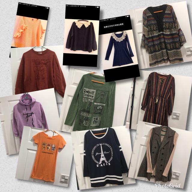三月份全館👗服飾商品買一送一大特價!