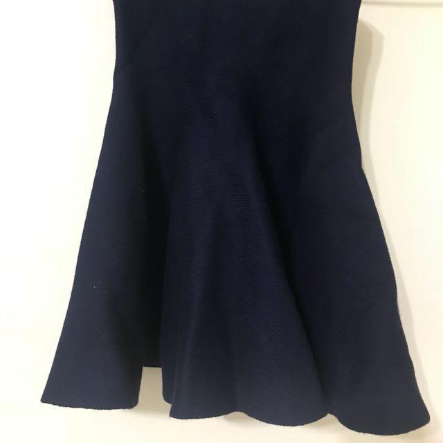 高腰傘狀裙