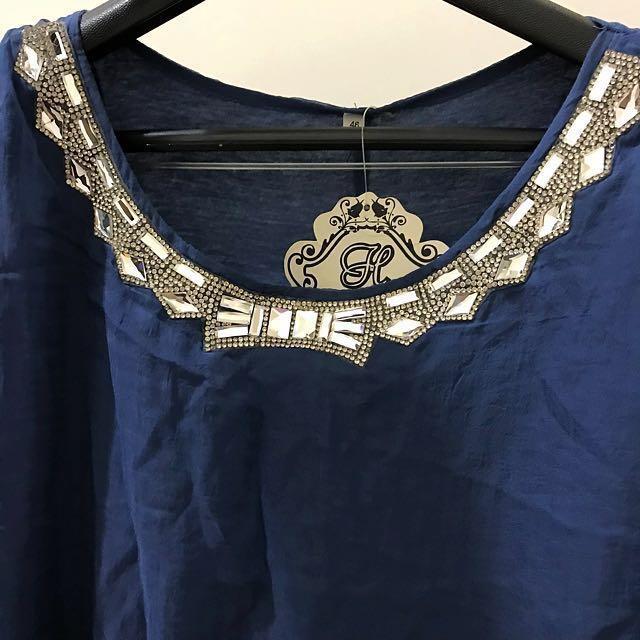 ✨免運👉假兩件式短袖洋裝👈