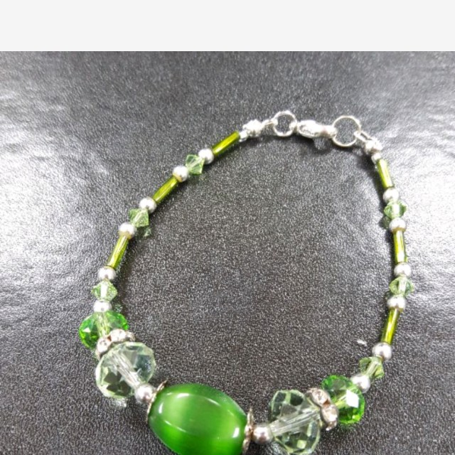 琉璃手鍊(綠)