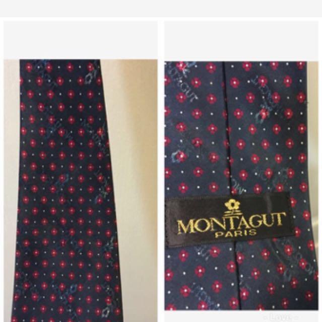 清倉大拍賣 巴黎 montagut  質感領帶