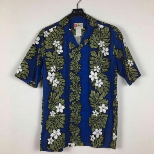 夏威夷花襯衫 古著 vintage 夏威夷製