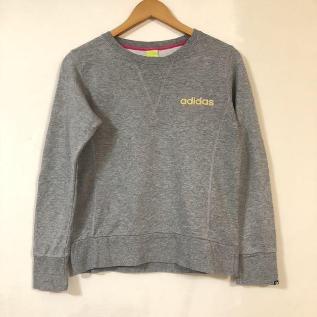 女 Adidas sweatshirts used 愛迪達 運動 長袖T恤3 月