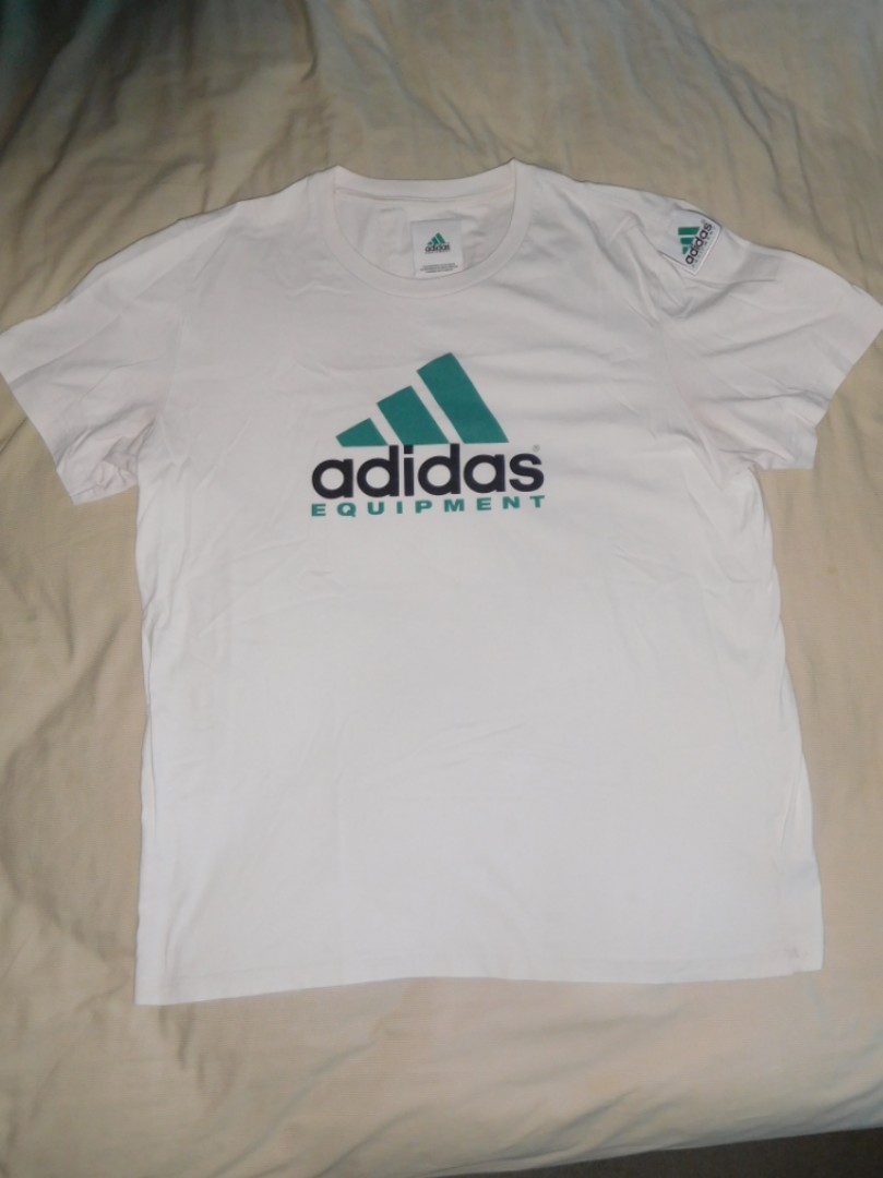 Adidas Equipment EQT Logo T-shirt Size XL