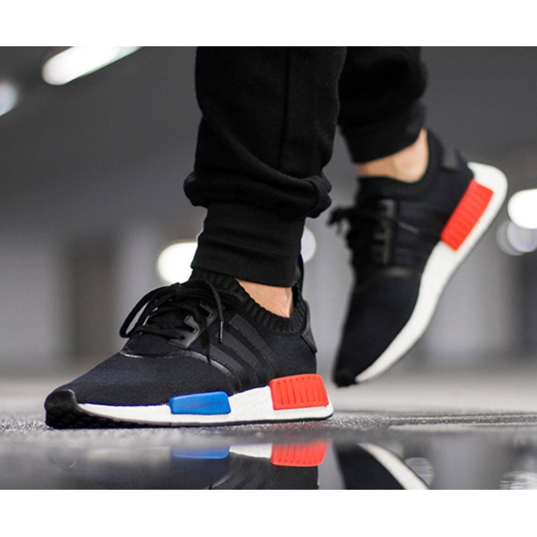 free shipping c25ed 190f0 Adidas NMD R1 PK OG, Men's Fashion, Footwear on Carousell