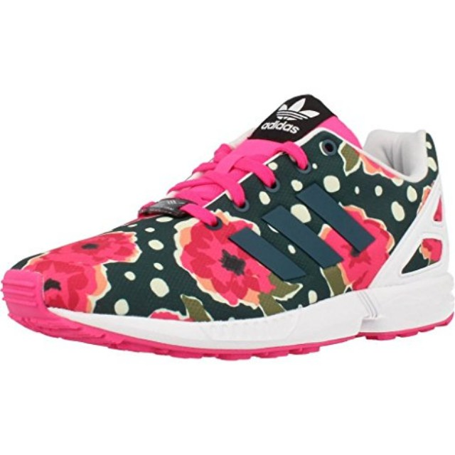 252e575d88749 Adidas ZX Flux Floral for Girls