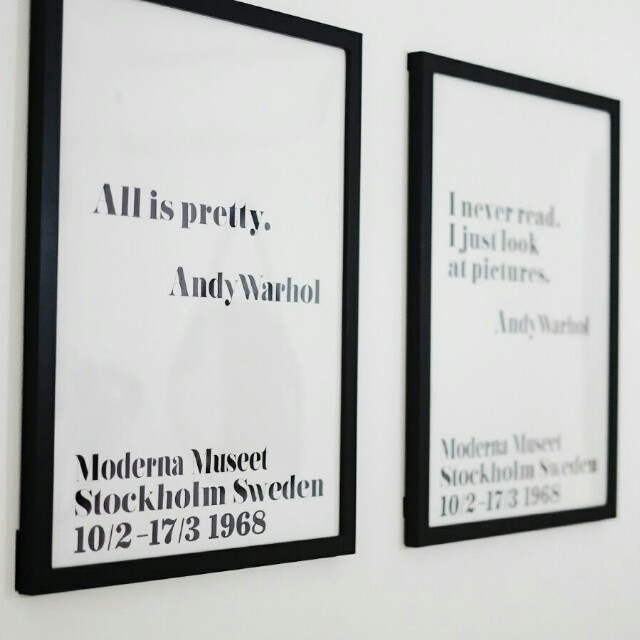 andy warhol canvas print quotes replica design craft art