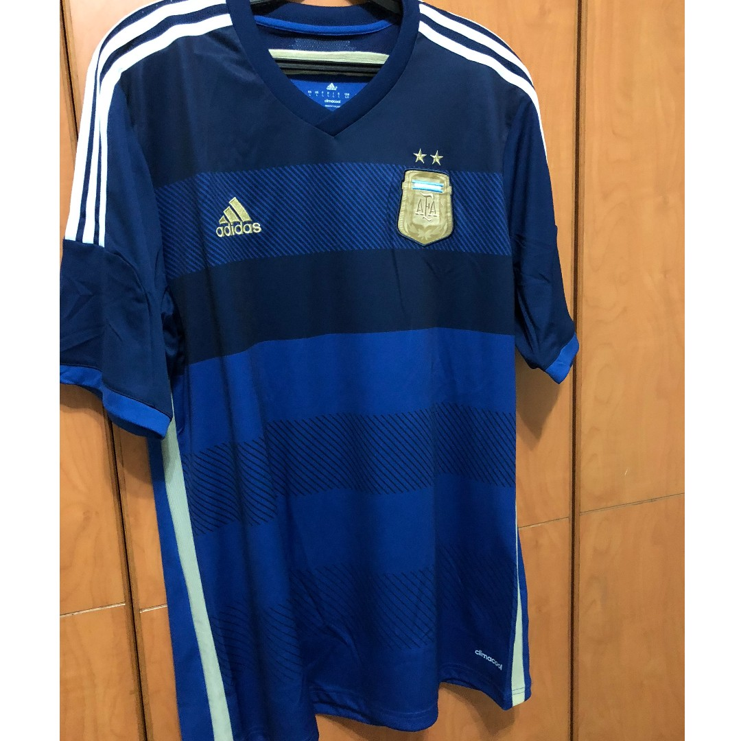 f62a0a4ab Argentina World Cup Away Jersey 2014 WC