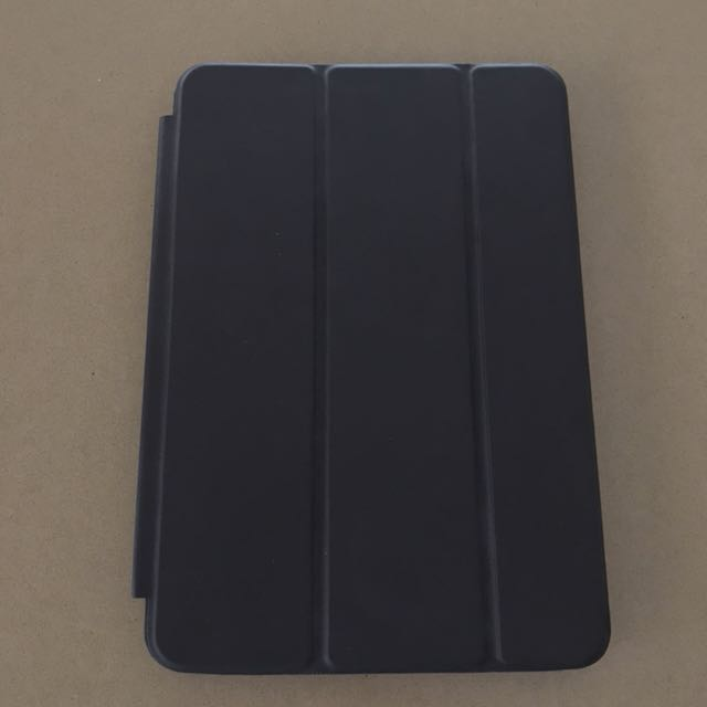 As new IPad mini 2 flip case, black