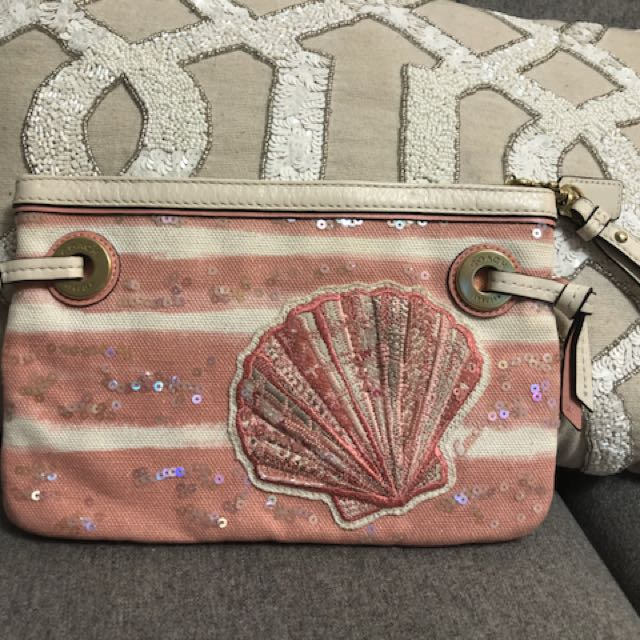 Authentic Coach summer inspired clutch
