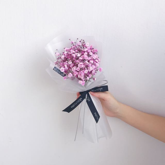 Babys breath bouquet korean style bouquet flower bouquet babys breath bouquet korean style bouquet flower bouquet birthday gift babys breath flower bouquet everything else on carousell mightylinksfo