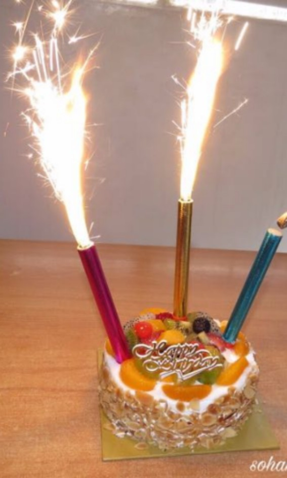 Birthday Firework Candles Sparkle Everything Else On Carousell