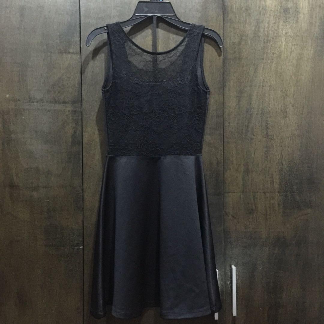 Black Low Back Dress
