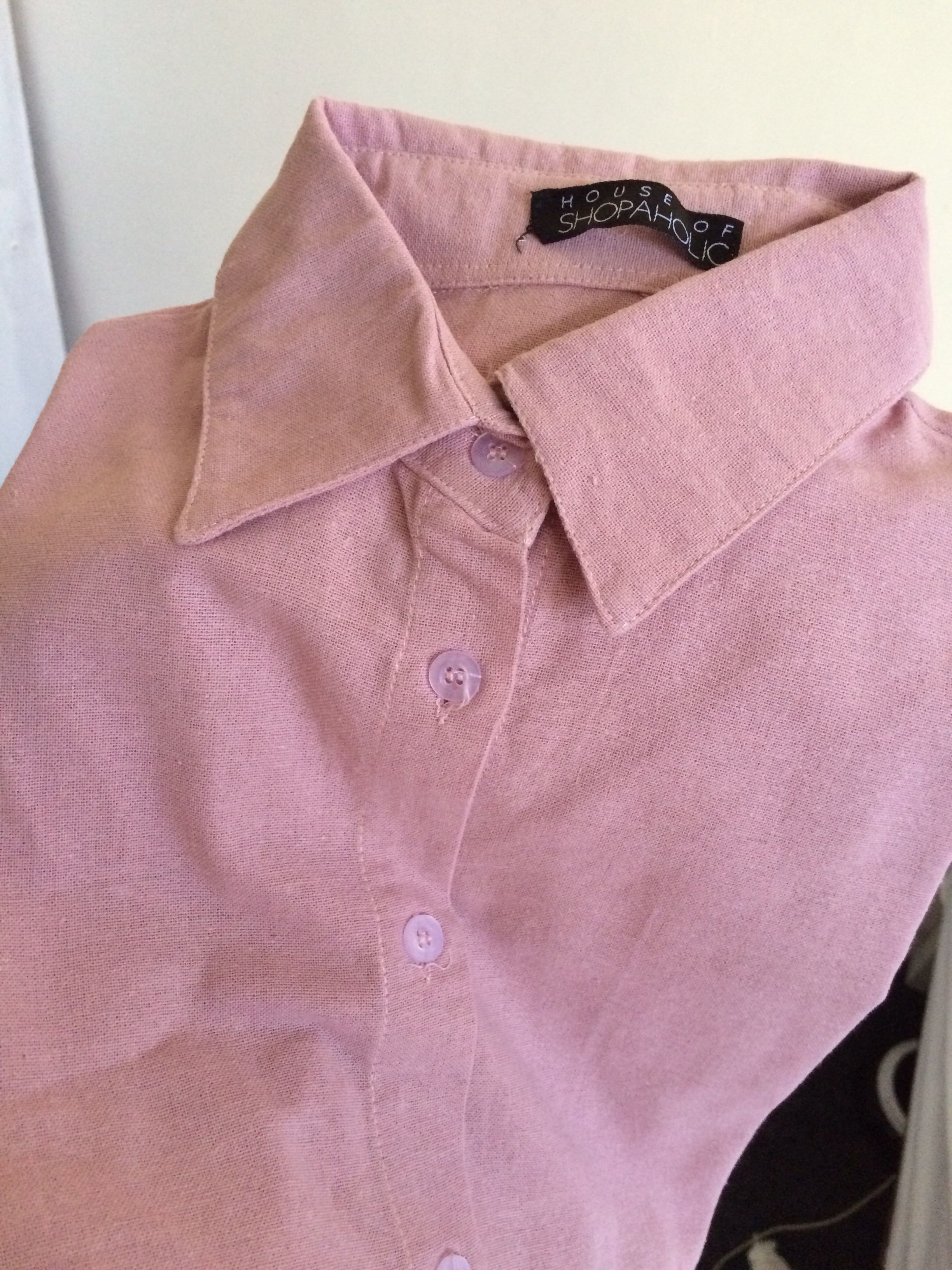 Blouse Baby pink fit to XL (Dove shirt)