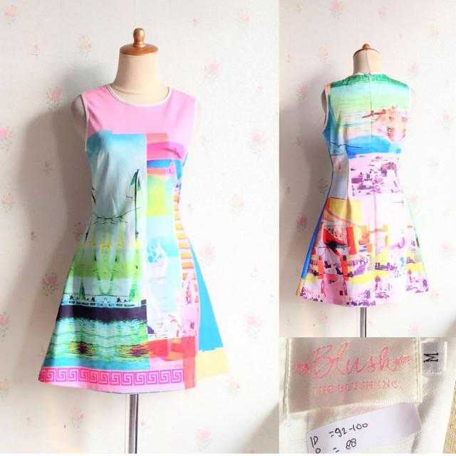 blush inc dress