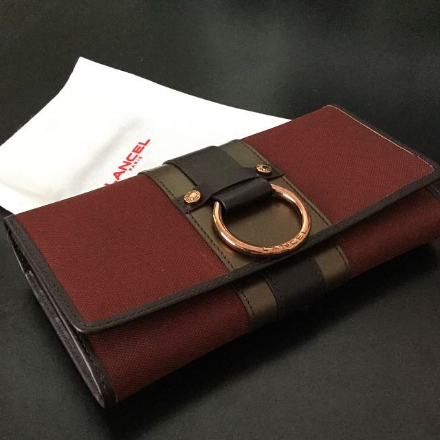 BNIB Lancel Paris wallet