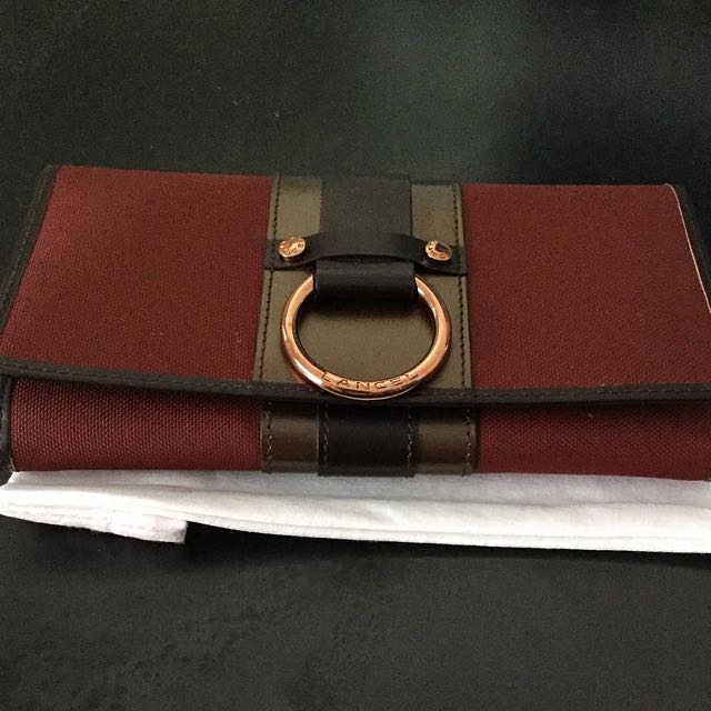 BNIB Lancel Paris wallet