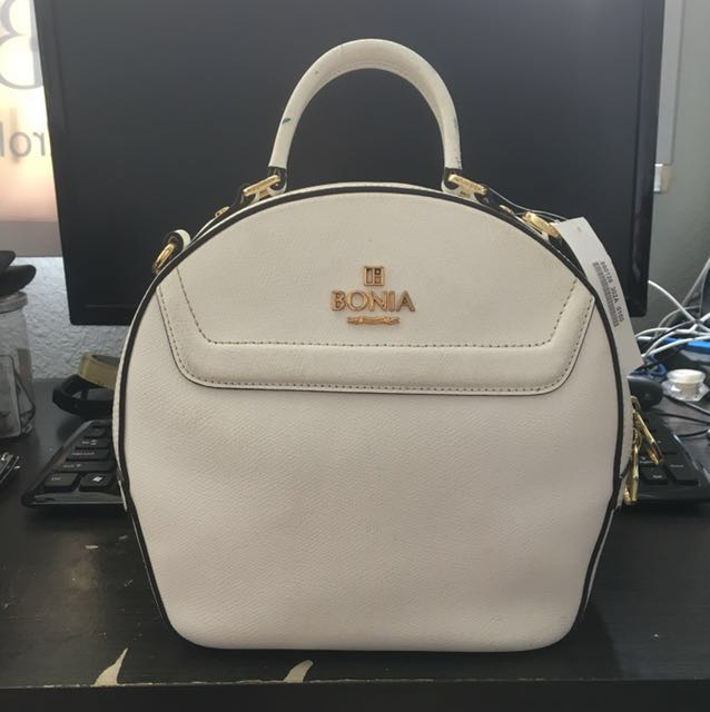 b63d13a2a22 Bonia Sonia Bag - White and green, Women's Fashion, Bags & Wallets ...