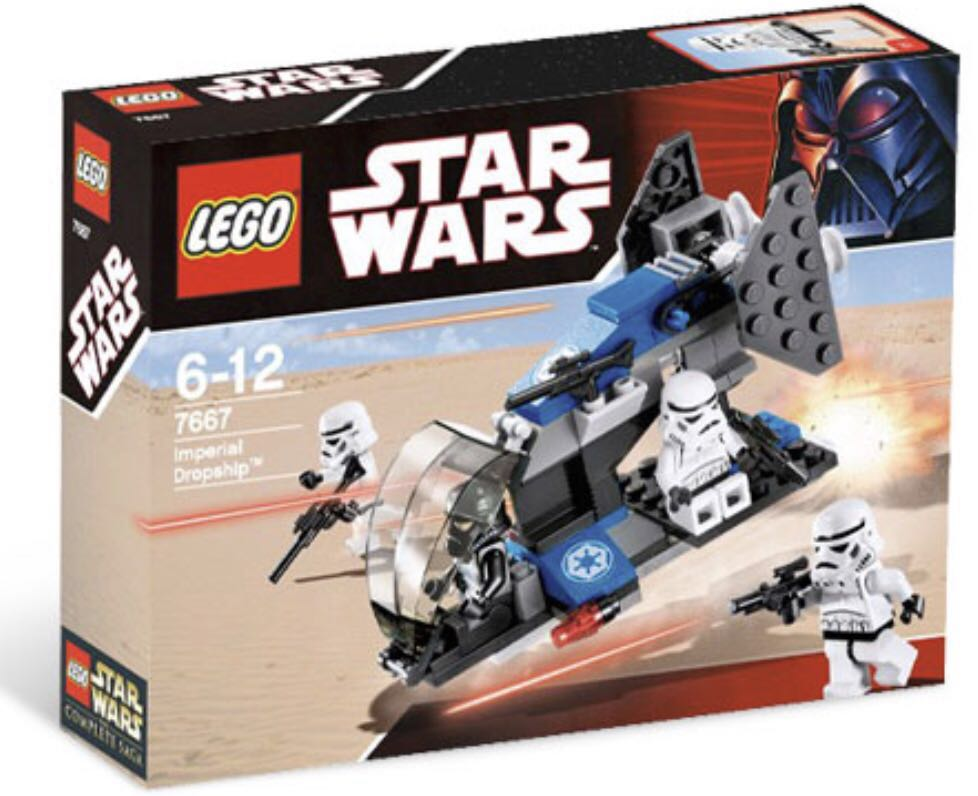 Brand New Lego Star Wars 7667 Imperial Dropship Toys Games