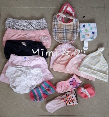 Branded items for baby girl