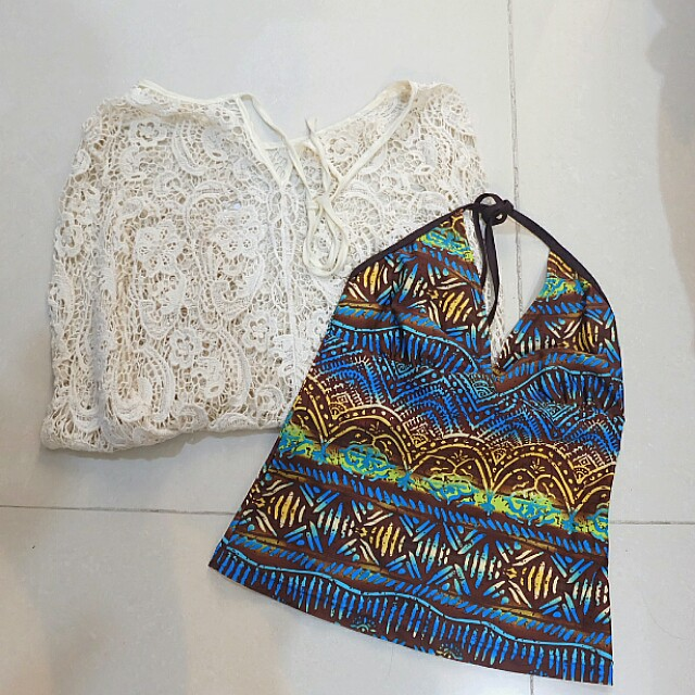 Bundle: Swimwear (Tank top and Cover up)