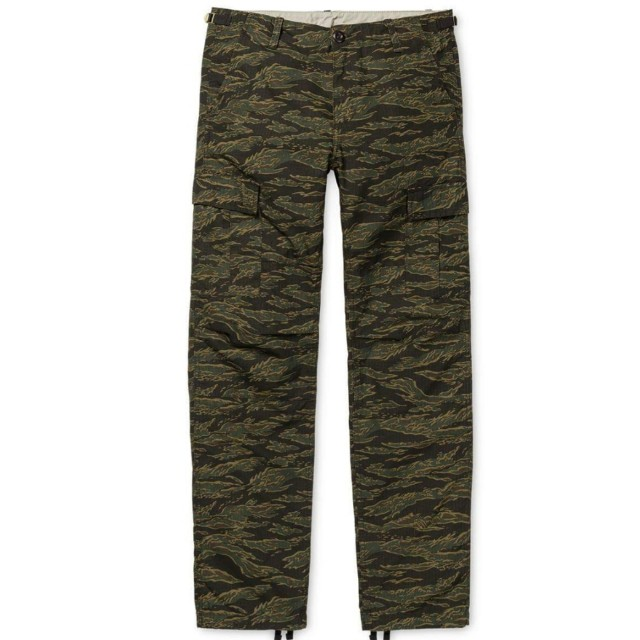 Carhartt wip aviation pant tiger camo 虎紋迷彩 28腰 近全新