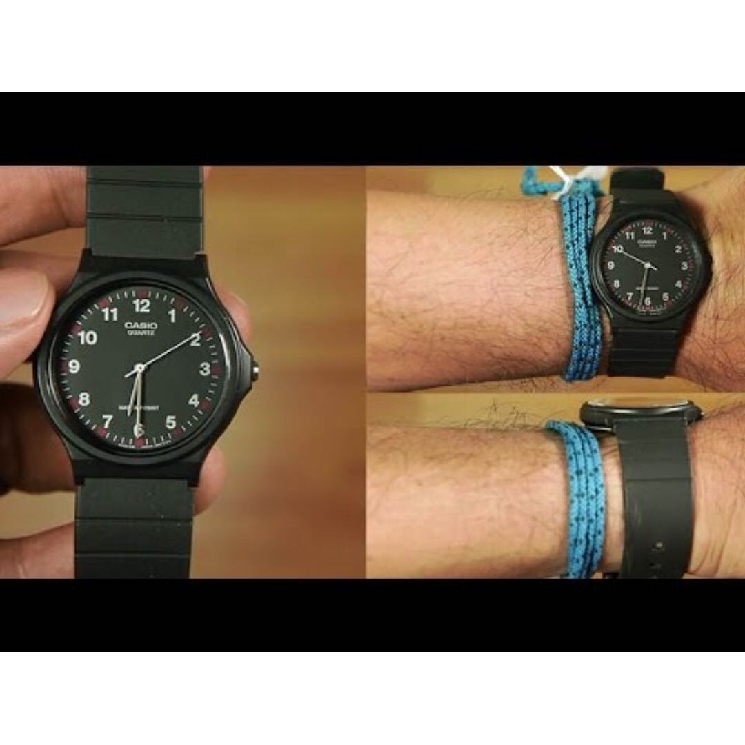 c12093c84 Casio Men's Black Resin Strap Watch MQ-24-1B - 100% Genuine - In ...