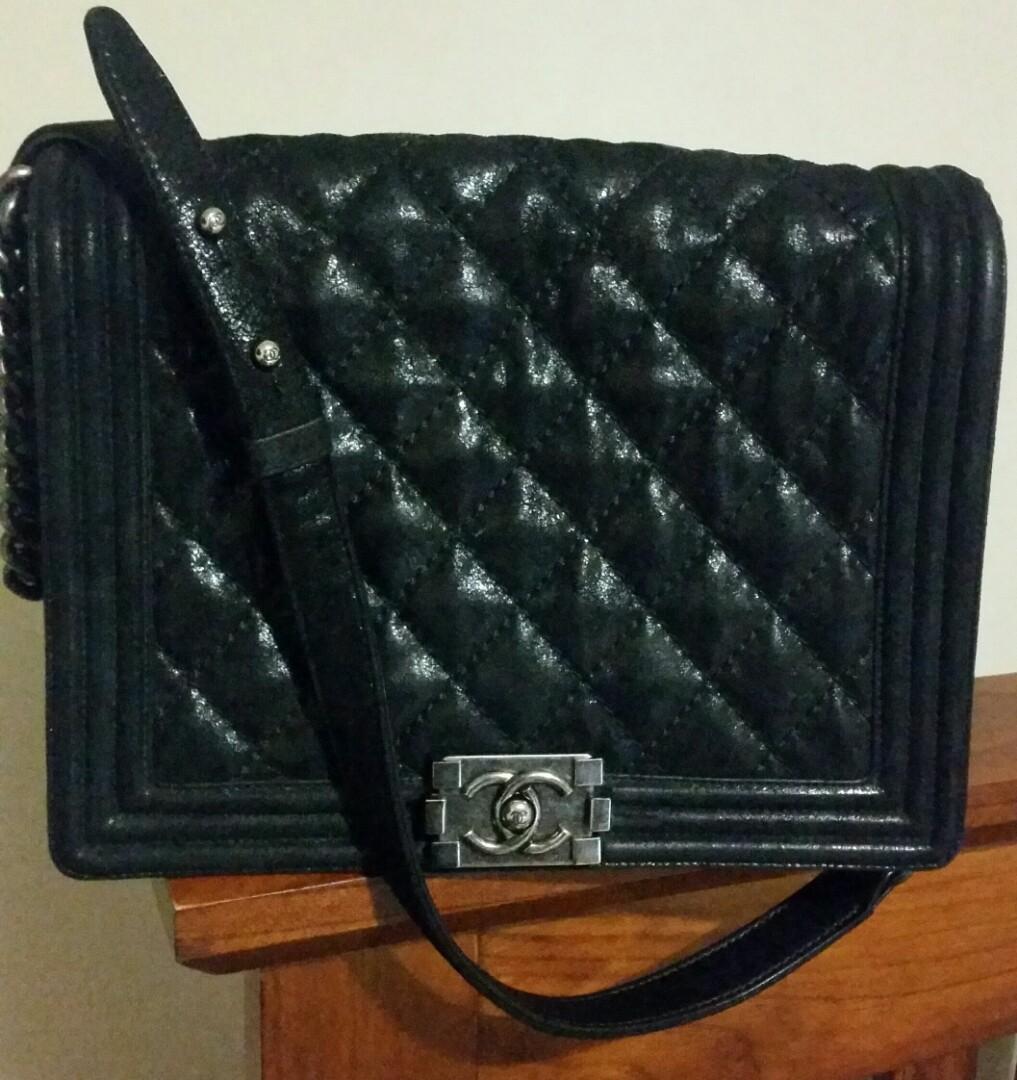 Chanel Gentle Boy Bag