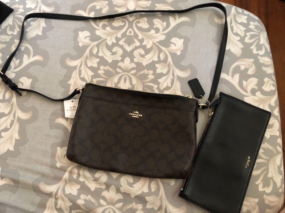 Coach shoulder/sling bag