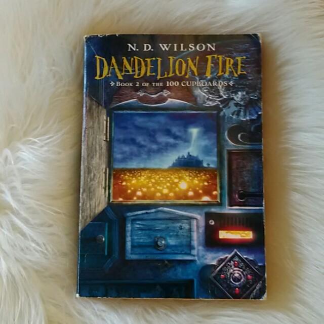 Dandelion Fire Book 2 100 Cupboards by N. D. Wilson