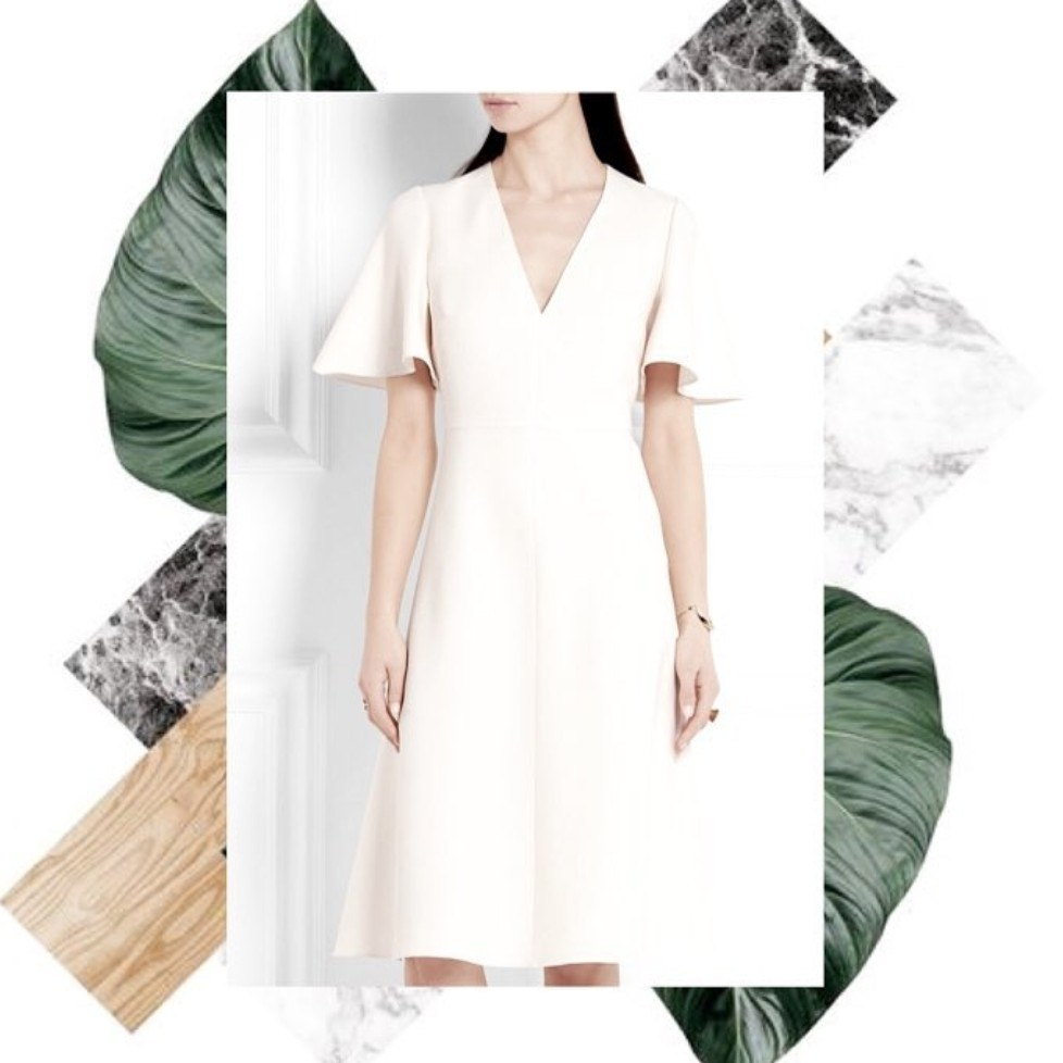 E'avenue white dress
