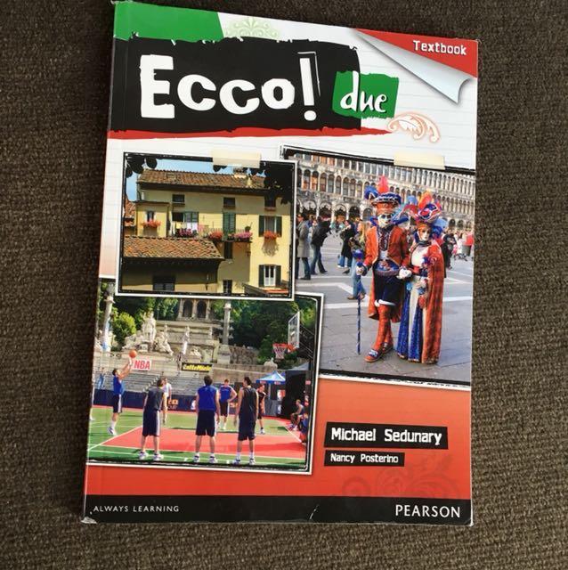 Ecco! Due Textbook Italian