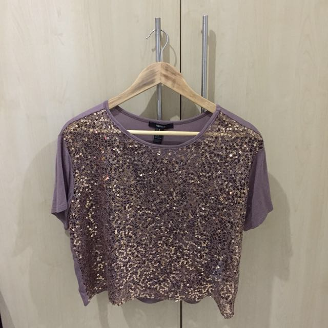 F21 Sequined Top